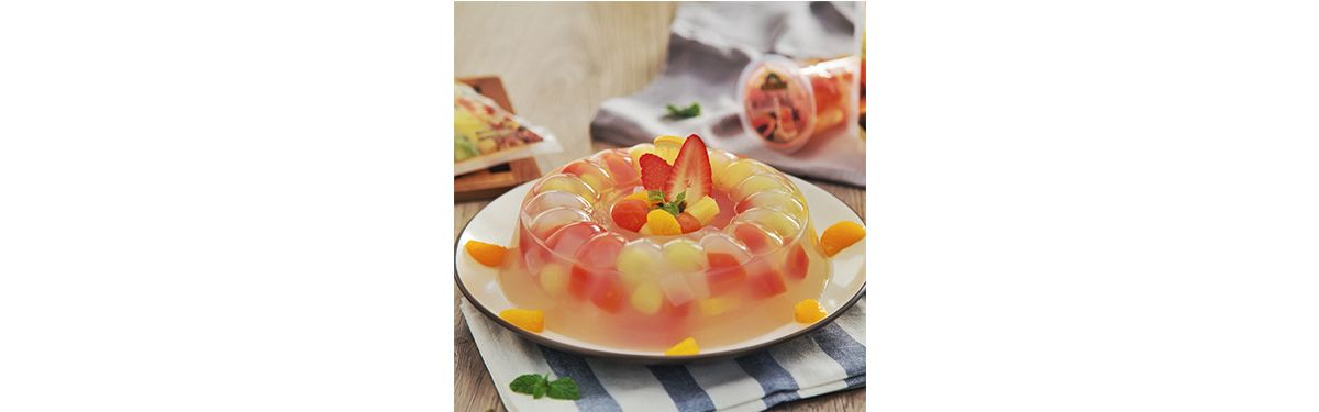 Puding Fruit Cocktail