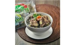 ChickenMeatRibs with Pickled Vegetable Soup